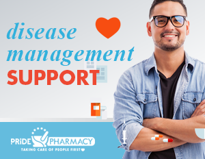 Disease Management Support at Pride Pharmacy