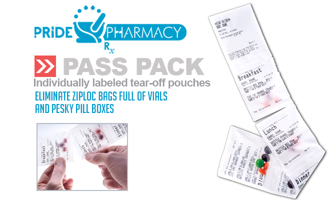 """Pride Pharmacy Introduces """"PASS Pack"""" the simple strip package solution"""