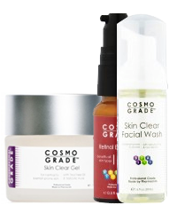 Cosmo Grade Products for Rosacea & Acne available at Pride Pharmacy Hillcrest