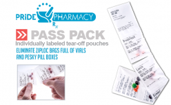 "Pride Pharmacy Introduces ""PASS Pack"" the simple strip package solution"