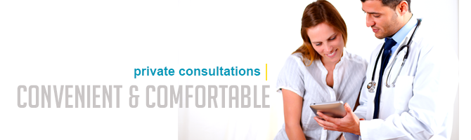 Private Consultations with your Pharmacist, Convenient and Comfortable