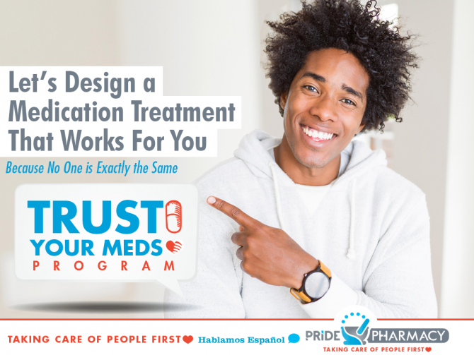 Pride Pharmacy Launches Trust Your Meds Program, Image